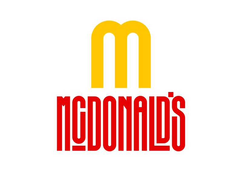 McDonald's graphic design letters instagram lettering typedesign design faelpt type typography logo mcdonalds