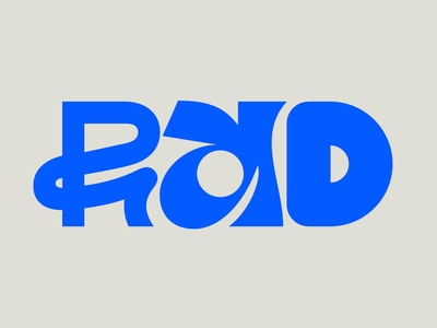 Rad illustration graphic design letters instagram lettering typedesign design faelpt type typography rad