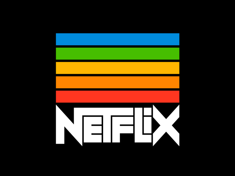 Netflix graphic design letters instagram lettering typedesign design faelpt type typography logo netflix