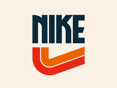 Nike logo graphic design letters instagram lettering typedesign design faelpt type typography nike
