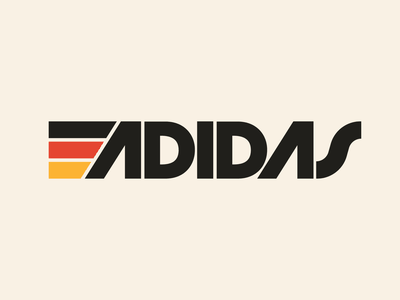 Adidas graphic design letters instagram lettering typedesign design faelpt type typography logo adidas