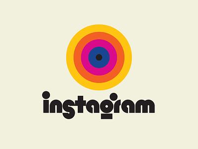 Instagram illustration graphic design letters lettering typedesign design faelpt type typography logo instagram