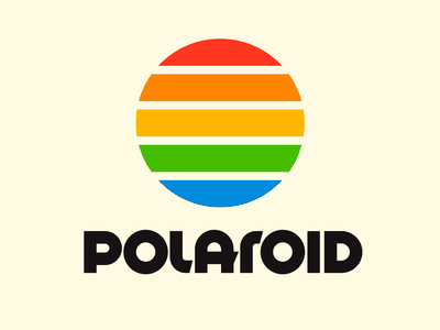 Polaroid graphic design letters instagram lettering typedesign design faelpt type typography logo polaroid