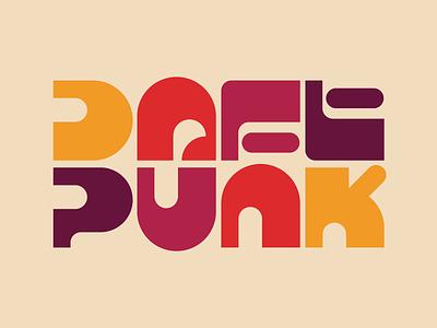 Daft Punk illustration graphic design letters instagram lettering typedesign design faelpt type typography daftpunk