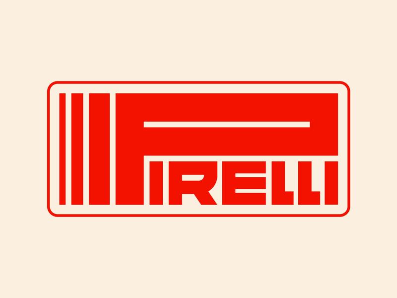 Pirelli graphic design letters instagram lettering typedesign design faelpt type typography logo pirelli