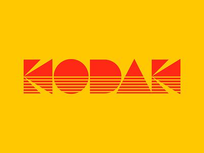 Kodak graphic design letters instagram lettering typedesign design faelpt type typography logo kodak