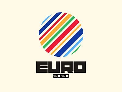 Euro 2020 logo illustration instagram lettering typedesign design faelpt type typography euro 2020