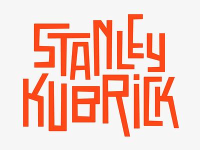Stanley Kubrick clockwork orange type design faelpt type title stanley kubrick kubrick typography design