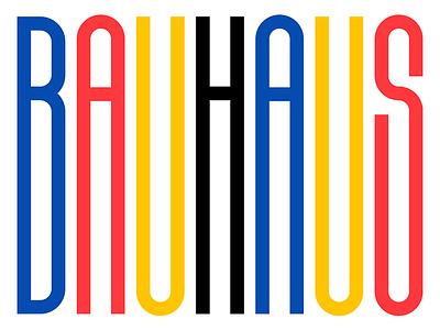 Celebrating Bauhaus illustration bespoke bauhaus100 bauhaus design custom type typedesign faelpt typography