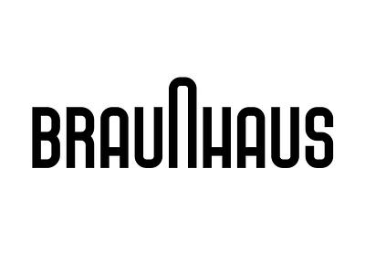 Braunhaus letters graphic design type dieter rams typography bauhaus braun rams