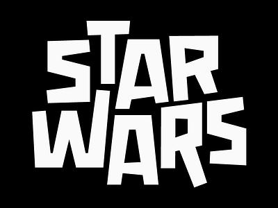 Star Wars design faelpt typedesign skywalker darth vader jedi star wars starwars type typography