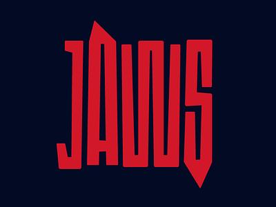 Jaws steven spielberg type design faelpt typography movie poster horror movies movie jaws