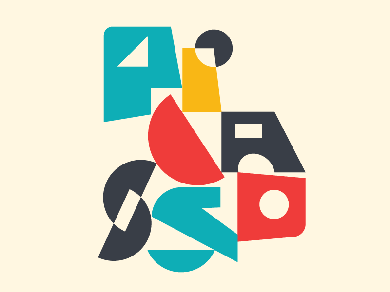 Picasso typedesign design type faelpt typography painting pablo picasso art cubism picasso