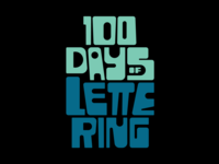 100 Days of Lettering