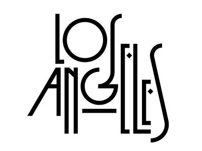 Los Angeles losangeles faelpt typography letters lettering hollywood california la los angeles