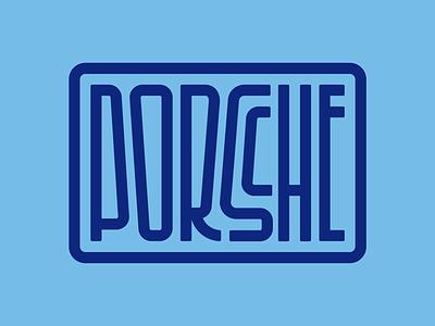 Porsche type letters typography design lettering gt cars porsche 911 porsche