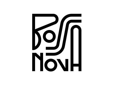 Bossa Nova graphic design design lettering typography joao gilberto music brasil brazil bossa nova