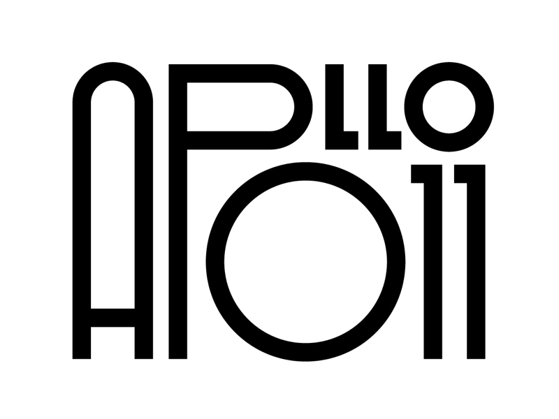 Apollo 11 design faelpt letters graphic design typography lettering moon landing nasa moon apollo 11 apollo