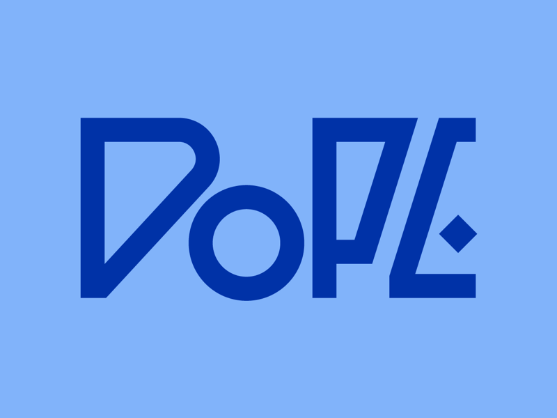 Dope letters design graphic design faelpt type typography lettering word dope