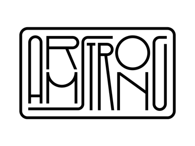 Neil Armstrong type design lettering typography astronaut armstrong neil armstrong apollo 11 moon first man
