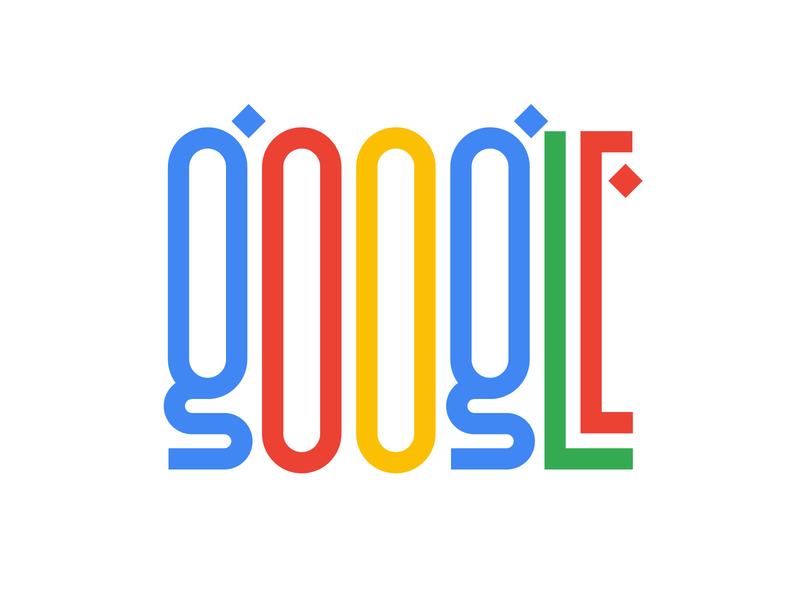 Google illustration graphic design letters instagram lettering typedesign design faelpt type typography google