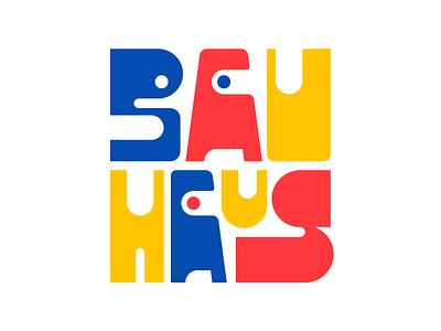 Bauhaus graphic design letters instagram lettering typedesign design type faelpt typography bauhaus100 bauhaus