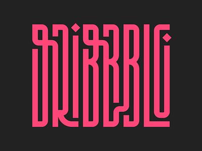 Dribbble illustration instagram letters lettering typedesign design faelpt type typography logo dribbble
