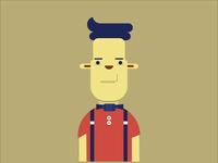 flat characters illustrator