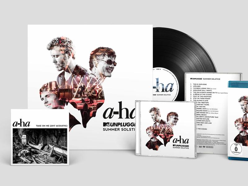 A-ha - MTV Unplugged Summer Solstice band aha music album music art music artwork packaging typography design cover design cover artwork cover art cover artwork album artwork album art