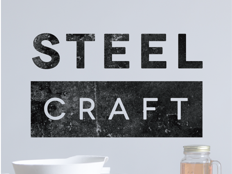 Steelcraft Branding & Logo icon logo branding