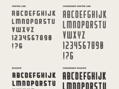 Scout Typeface