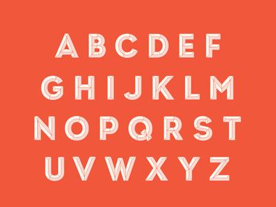 Camper Typeface