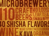 Microbrewery Typography
