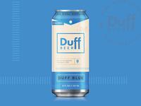 Duff Blue + Pocket Top