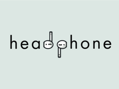 Headphone Wordmark