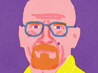 """""""Quick Portrait"""" Bryan Cranston portraits quickportraits"""