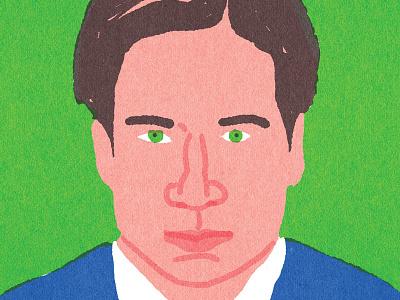"""Quick Portraits"" Fox Mulder, David Duchovny tvseries quickportraits"