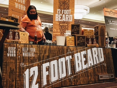 12 Foot Beard: Booth