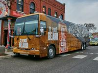 12 Foot Beard Tour Bus