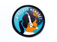 Space Badge: Wireless Headset