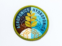Space Badge:  Aeroponics / Hydroponics