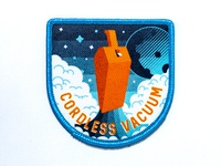 Space Badge: Cordless Vacuum