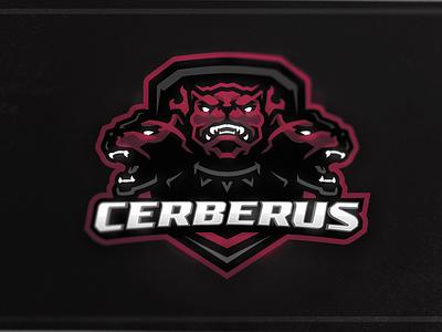 Cerberus Mascot Logo devil demon hell evil dog cerberus angry art e-sports logo illustration design branding vector mascot logo mascot