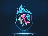 Spark's Reaper Mascot Logo For Sale