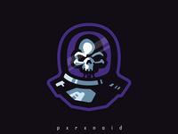 Dead Astronaut Mascot Logo