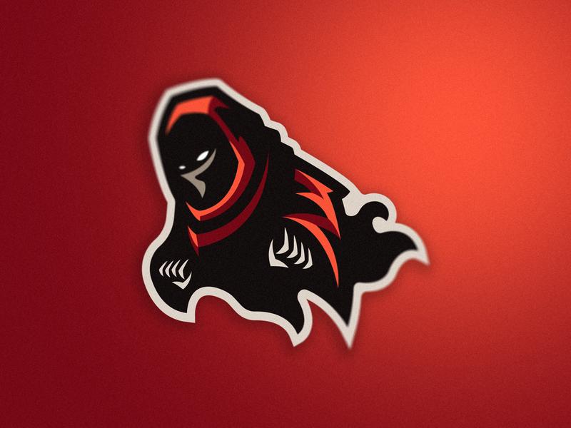 Minion Mascot Logo minion dead red angry e-sports web logo icon flat branding vector mascot logo mascot illustration design art app