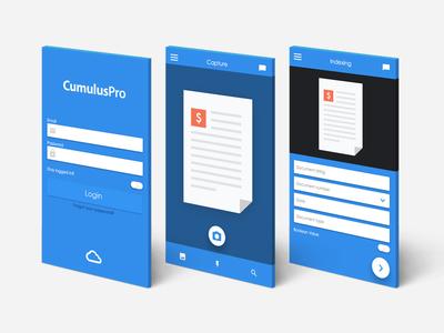 Mobile Capture App Design
