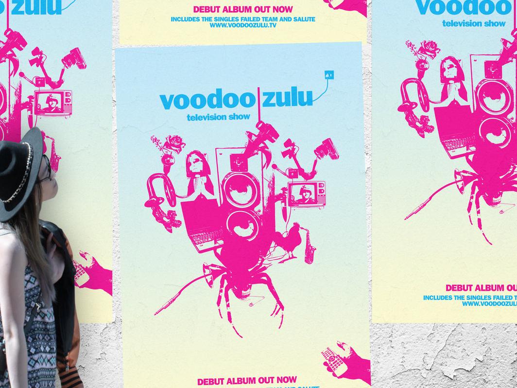 Album and release illustration poster album art illustration layout