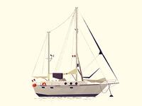 Boat Dribbble