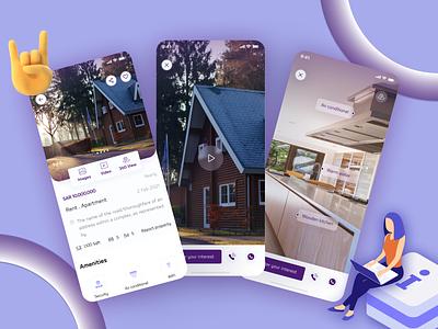 Property Detail Page - Dar Al Arkan App ux design ui app